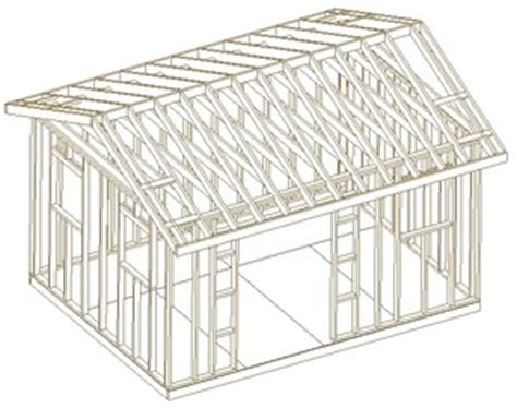 Free 12x16 shed plans Image