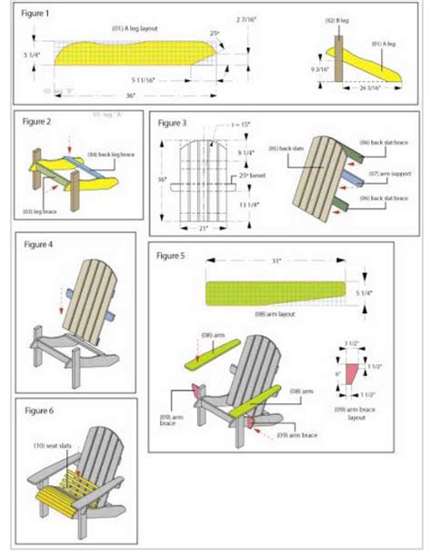 Free adirondack chair plans lowes Image