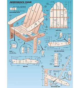 Free Adirondack Chair Plans With Lower Back Support