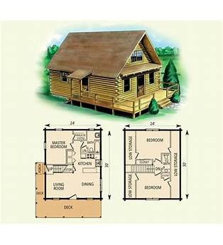 Free Cabin Floor Plans With Loft