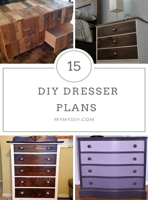 Free diy dresser plans Image