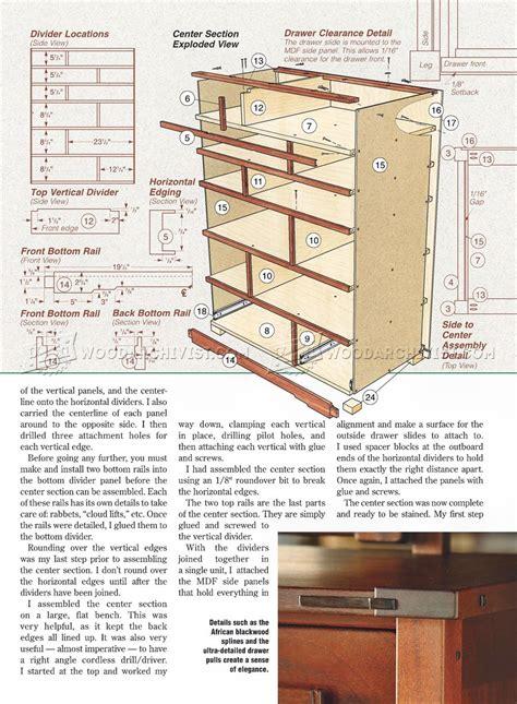 Free dresser plans Image