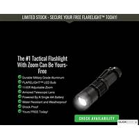 Free flarelight offer converts 13 3 percent survival life that works