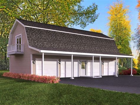 Free garage plans with living quarters Image
