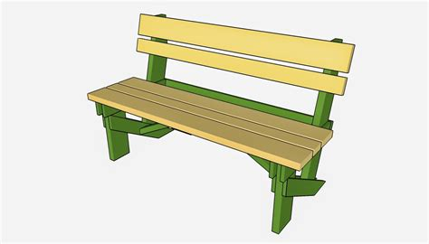 Free Garden Bench Building Plans
