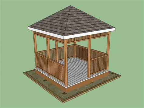 Free gazebo plans and designs Image