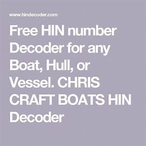 Guide to free hin number decoder for any boat, hull, or vessel