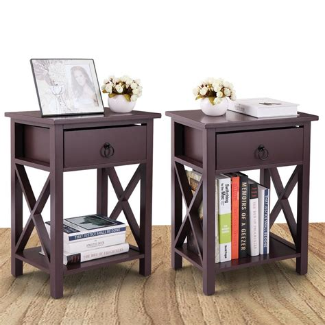 Free Night Stand Plans Drawers Under Bed