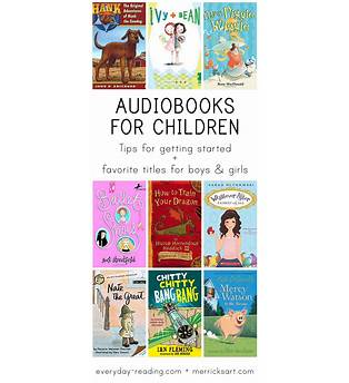 Free Online Audio Books For Preschoolers
