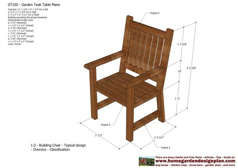 Free outdoor furniture plans Image