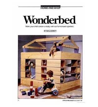 Free Plans Children S Bed