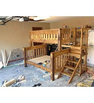 Free Plans For Bunk Beds Twin Over Full