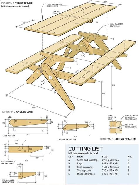 Free printable woodworking plans Image