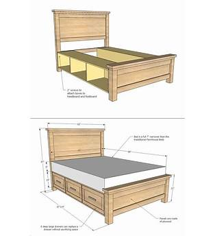 Free Storage Bed Plans