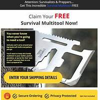 Free survival multitool plus bonuses promo code