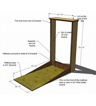 Free Wall Bed Building Plans