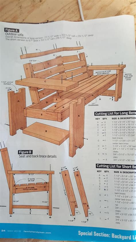 Free Wood Furniture Building Plans