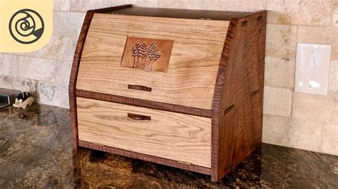 Free Wooden Bread Box Plans