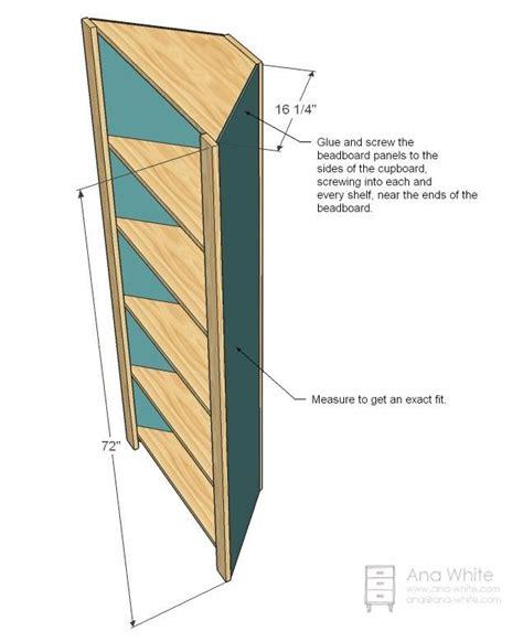 Free woodworking plans corner hutch Image