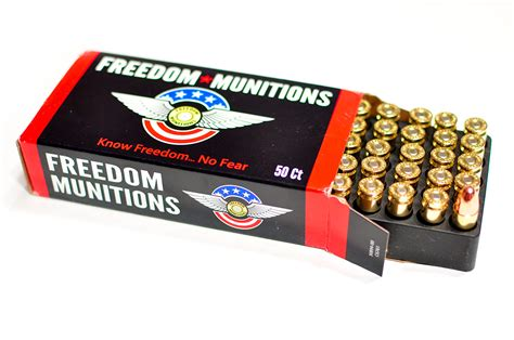 Freedom Munitions 9mm Ammo Review