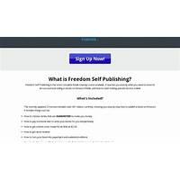 Freedom self publishing kindle publishing training course free trial