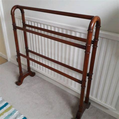 Freestanding Towel Rail Wooden