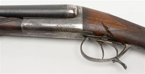 French Edl Double Barrel Shotgun