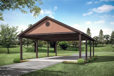 Front carport house plans Image