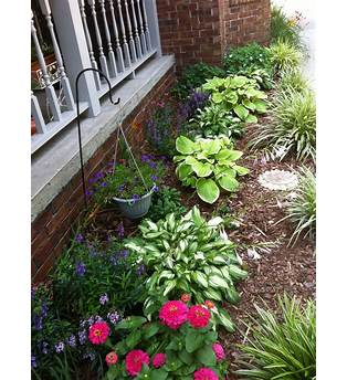 Front Yard Flower Bed Plans
