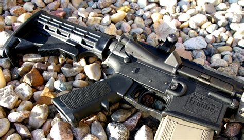 Frontier Armory Lw-15 Genii Complete Ar15 Polymer Lower Receiver