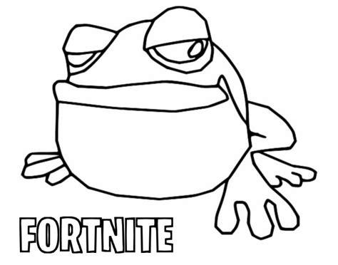Frosch Malvorlagen Fortnite