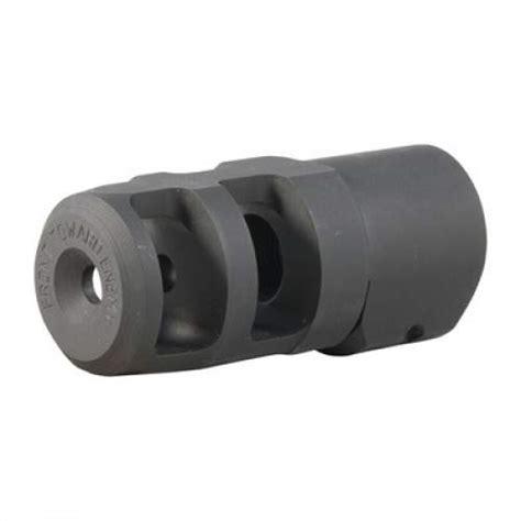 Fte Muzzle Brake 20 Caliber 3 424 Steel Black Brownells It