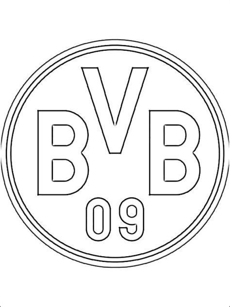 Fußball Ausmalbilder Bvb
