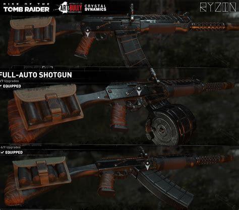 Full Auto Shotgun Tomb Raider