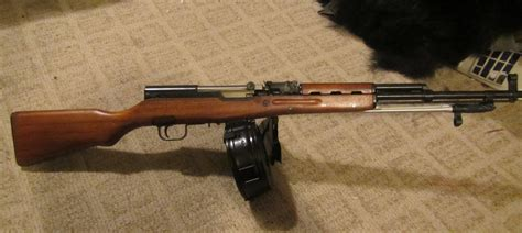Full Auto Sks With Drum Mag