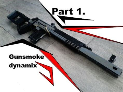 Full Instructions Lego Bolt Action Sniper Rifle V4 Part One