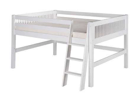 Full Size Low Loft Bed