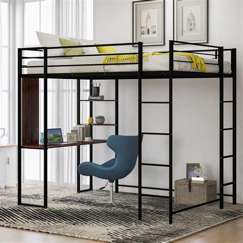 Full Size Metal Loft Bed