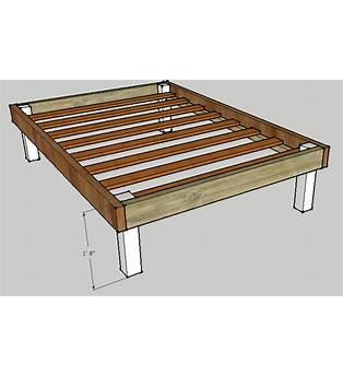 Full Bed Frame Plans Free