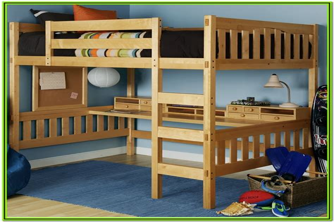 Full size loft bed plans Image