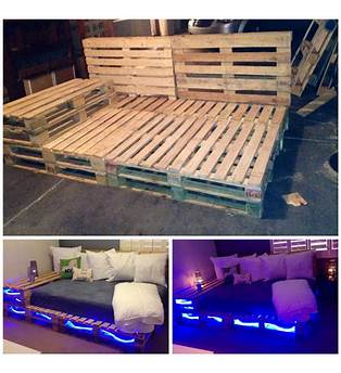 Full Size Pallet Bed Frame Plans