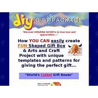 Fun shape 3d gift package & craft box templates bonus