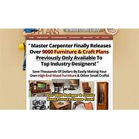 Furniture craft plans get $78 90 per sale highest comms! discounts