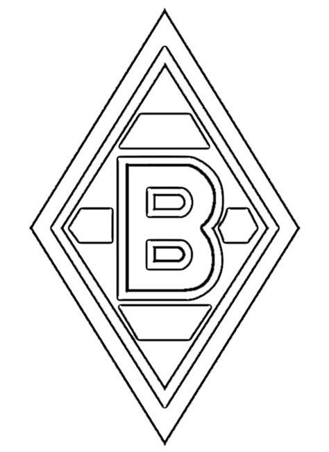 Fussball Ausmalbilder Borussia Mönchengladbach