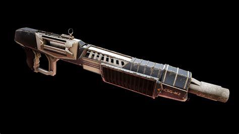 Futuristic Shotgun Model