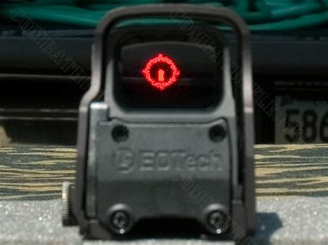 Fuzzy Reticle On Eotech Hws