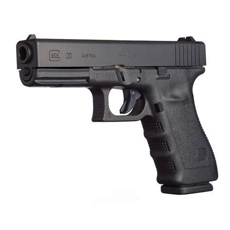 G20sf 4 6in 10mm Gas Nitride 15 1rd Glock