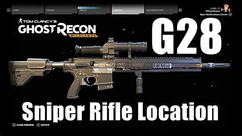 G28 Sniper Rifle Ghost Recon