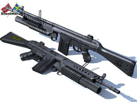 G3 Assault Rifle Grenade Launcher
