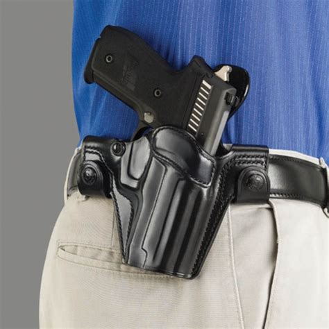 Galco SSR226B SSS Side Snap Scabbard For Glock 23 Right